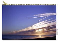 Beach Blue Sunset Carry-all Pouch