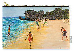 Beach Cricket Carry-all Pouch by Victor Collector