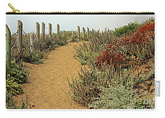 Carry-all Pouch featuring the photograph Beach Dune  by Kate Brown