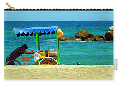 Beach Entrepreneur In San Jose Del Cabo Carry-all Pouch