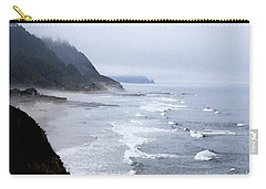 Beach Frontage In Monet Carry-all Pouch by Sharon Elliott
