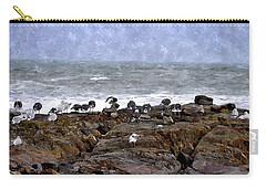 Beach Goers Bgwc Carry-all Pouch by Jim Brage