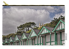 Beach Huts Langland Bay Swansea 3 Carry-all Pouch