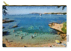 Beach In Vouliagmeni Carry-all Pouch