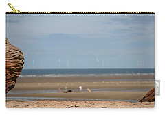 Beach Carry-all Pouch by Spikey Mouse Photography