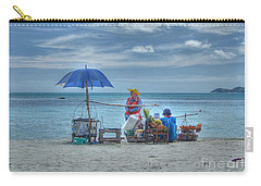 Beach Sellers Carry-all Pouch by Michelle Meenawong