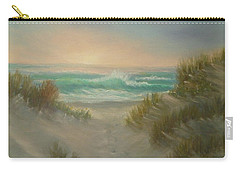 Cape Cod Beach Sunset Dunes Print  Carry-all Pouch