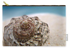 Carry-all Pouch featuring the photograph Beach Treasure by Micki Findlay