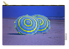 Beach Umbrellas By Jan Marvin Studios Carry-all Pouch