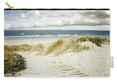 Beach View Carry-all Pouch by Les Cunliffe