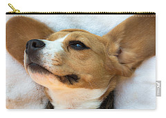 Beagles Dreams Carry-all Pouch by Eti Reid