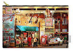 Beale Street Carry-all Pouch by Barbara Chichester