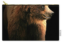 Bear Essentials Carry-all Pouch by Diana Angstadt