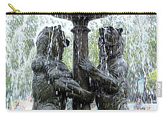 Bear Fountain Carry-all Pouch