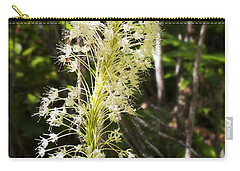 Carry-all Pouch featuring the photograph Bear Grass No 3 by Belinda Greb