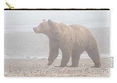 Bear In Fog Carry-all Pouch
