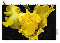 Bearded Iris Morning Dew Carry-all Pouch