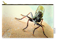 Bearded Robber Fly Carry-all Pouch