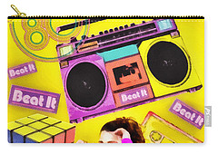 Beat It Carry-all Pouch by Mo T