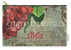 Beaujolais Nouveau 1 Carry-all Pouch by Debbie DeWitt