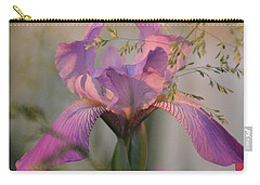 Beautiful And Mystical Iris  Carry-all Pouch