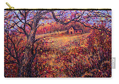 Carry-all Pouch featuring the painting Beautiful Autumn by Natalie Holland
