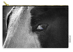 Beautiful Blind Soul Horse Carry-all Pouch