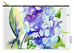 Beautiful Blue Flowers Carry-all Pouch