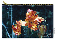 Carry-all Pouch featuring the photograph Gorgeous Tulip by Phyllis Kaltenbach