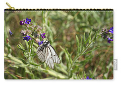 Beautiful Butterfly In Vegetation Carry-all Pouch
