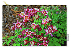 Beautiful Columbine   Carry-all Pouch by Ed  Riche