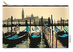 Carry-all Pouch featuring the photograph Beautiful Day In Venice by Brian Reaves