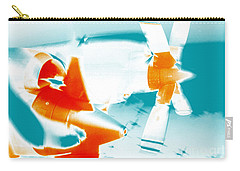 Carry-all Pouch featuring the photograph Fixed Wing Aircraft Pop Art Poster by R Muirhead Art