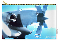 Carry-all Pouch featuring the photograph Beautiful Fixed Wing Aircraft by R Muirhead Art