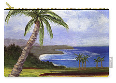 Carry-all Pouch featuring the painting Beautiful Kauai by Jamie Frier