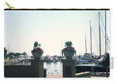 Carry-all Pouch featuring the photograph Beautiful Marina Entrance by Kay Novy