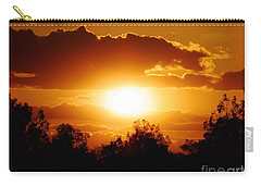 Carry-all Pouch featuring the photograph Beautiful Moment In Bakersfield by Meghan at FireBonnet Art