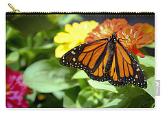 Beautiful Monarch Butterfly Carry-all Pouch