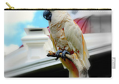 Beautiful Salmon-crested Cockatoo Carry-all Pouch