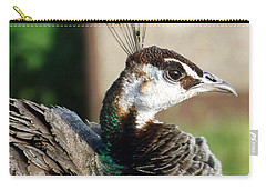 Beautiful Peahen Carry-all Pouch