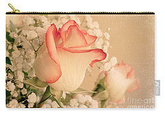 Beautiful Rose Carry-all Pouch by Lena Auxier