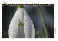 Beautiful Snowdrop Carry-all Pouch