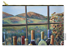 Carry-all Pouch featuring the painting Beautiful View by Donna Tuten