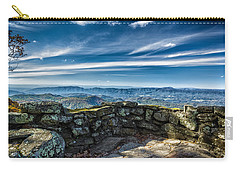 Beautiful View Of Mountains And Sky Carry-all Pouch