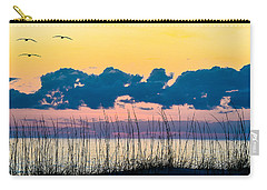 Beauty And The Birds Carry-all Pouch by Mary Ward