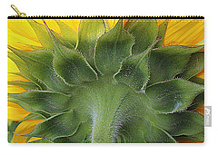 Beauty Everywhere - Sunflower Carry-all Pouch by Dora Sofia Caputo Photographic Art and Design
