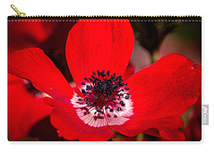 Beauty In Red Carry-all Pouch