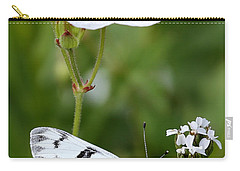 Beauty In White Carry-all Pouch by Marty Fancy