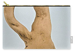 Beauty Must Pose For Us Carry-all Pouch by Mario Perron