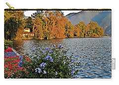 Beauty Of Lake Lugano Carry-all Pouch